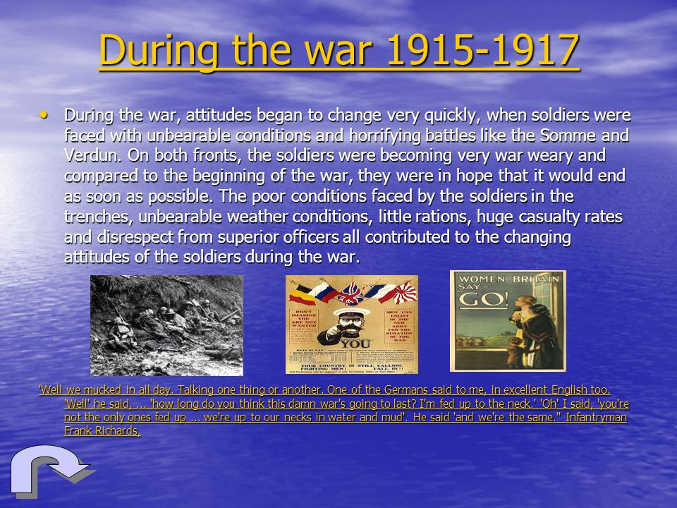 During the war 1915-1917