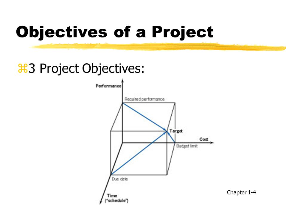 Objectives of a Project
