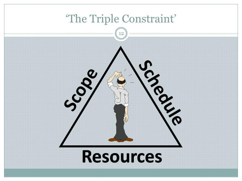 'The Triple Constraint'