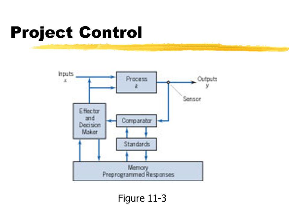 Project Control Figure 11-3