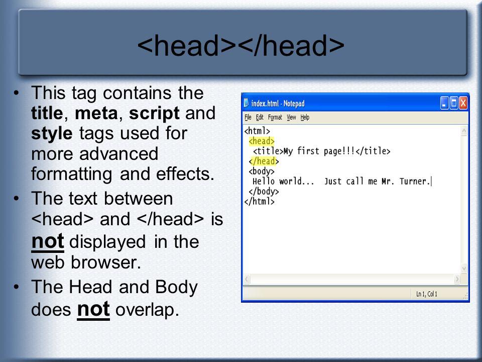 <head></head>