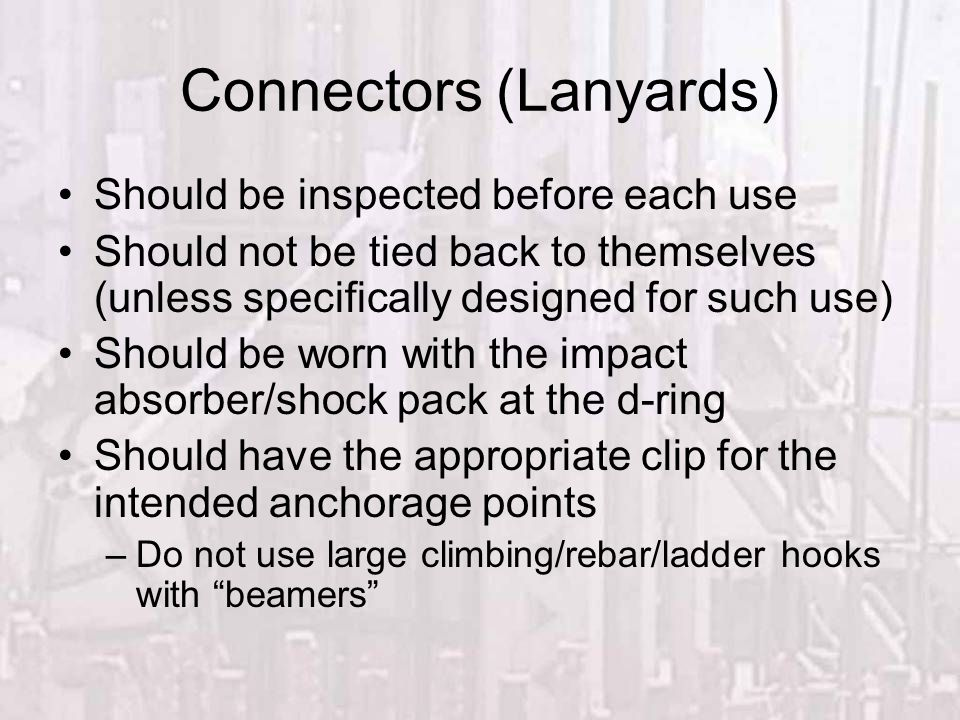 Connectors (Lanyards)