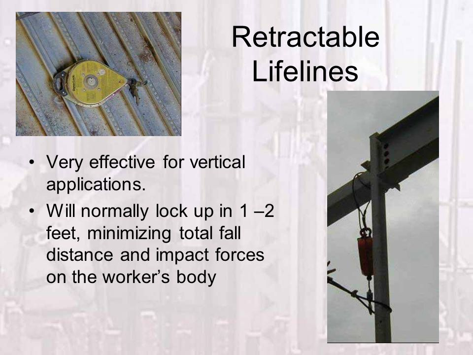Retractable Lifelines