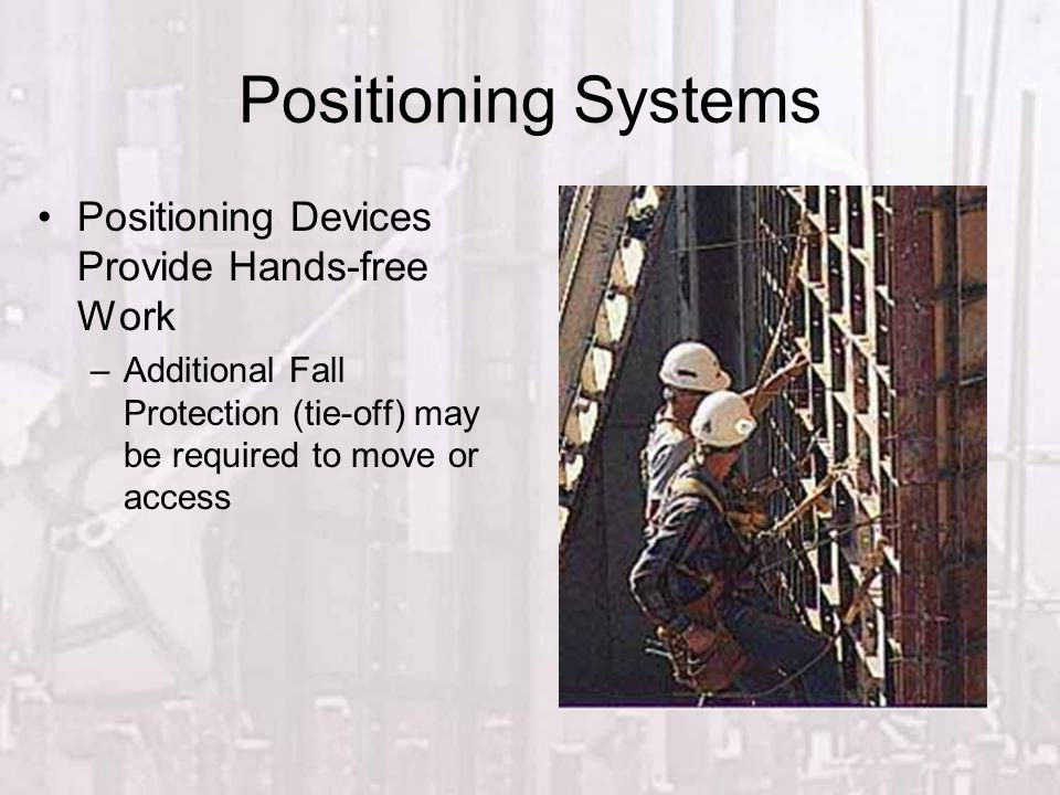 Positioning Systems Positioning Devices Provide Hands-free Work