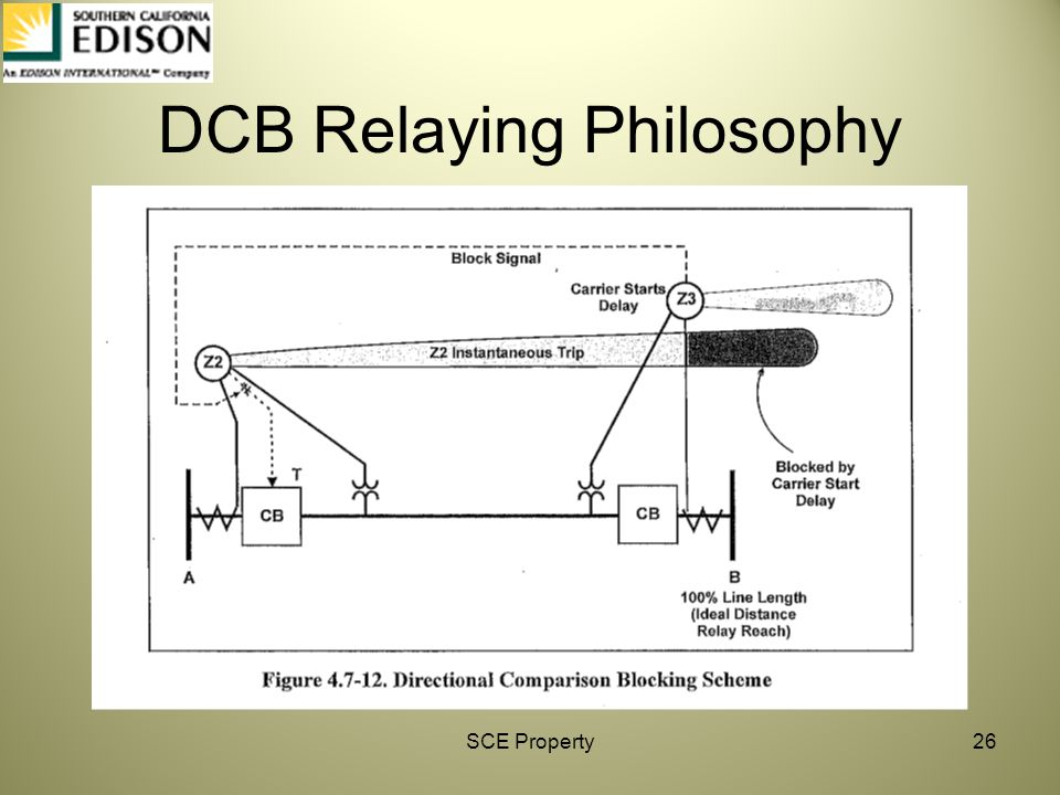DCB Relaying Philosophy