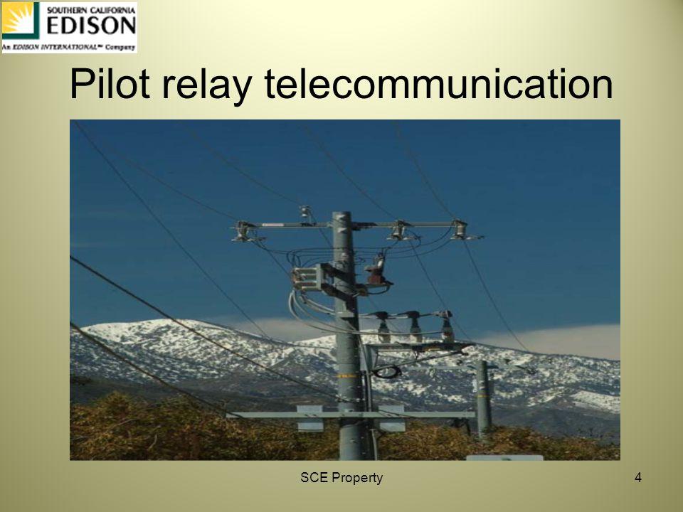 Pilot relay telecommunication