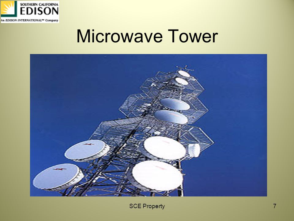 Microwave Tower SCE Property