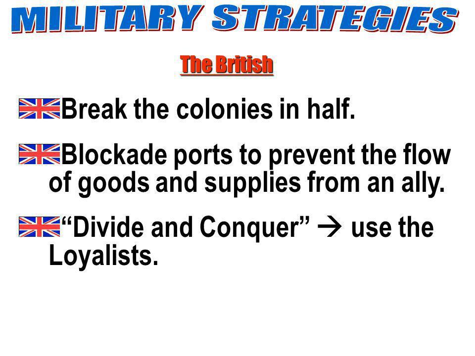 Break the colonies in half.