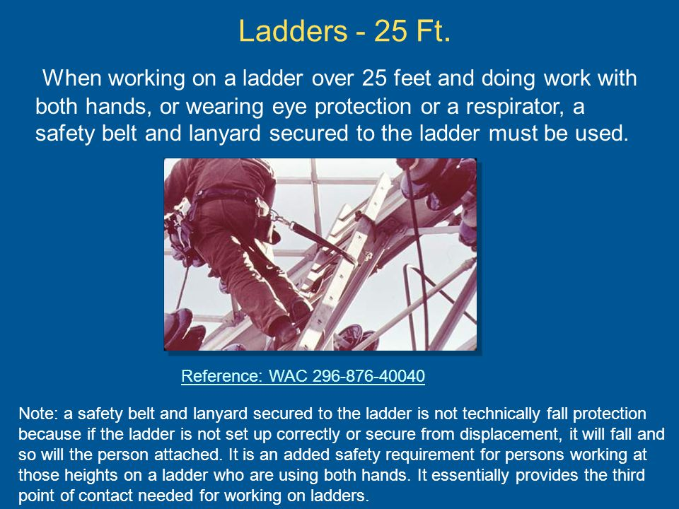 Ladders - 25 Ft.