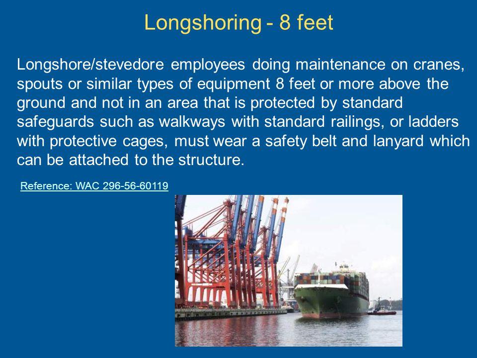 Longshoring - 8 feet