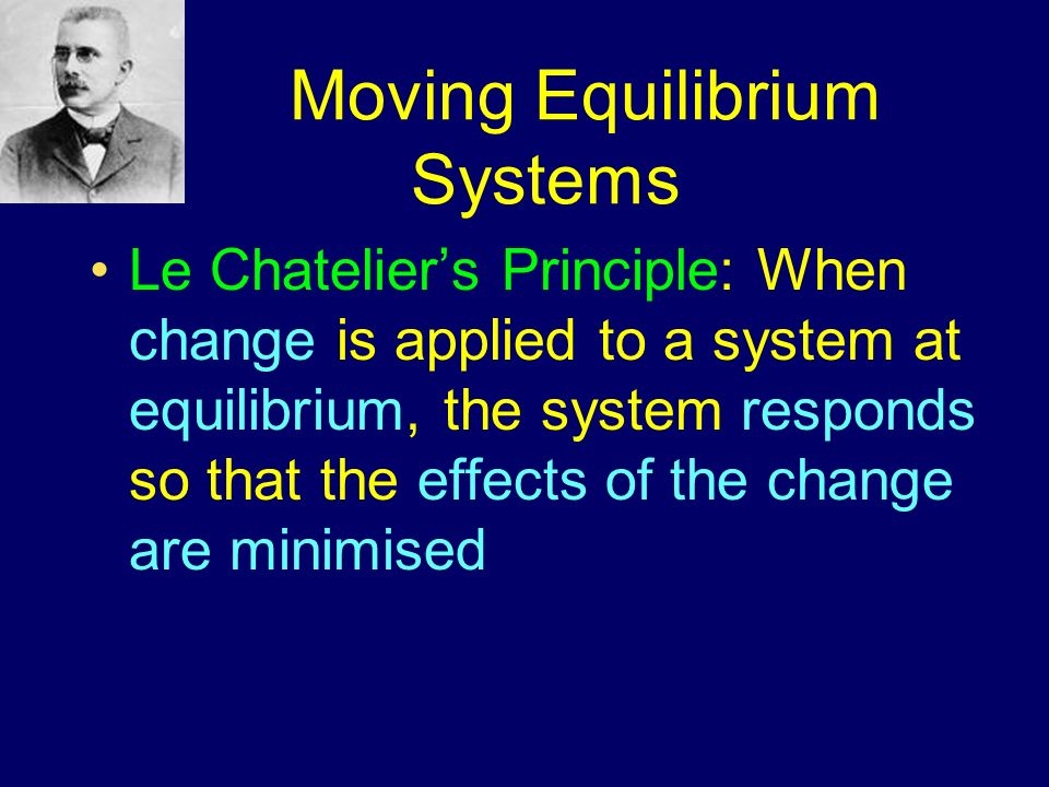 Moving Equilibrium Systems