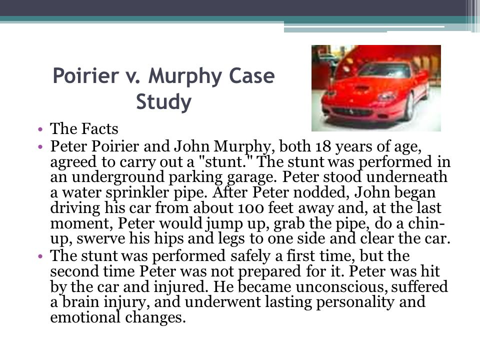 Poirier v. Murphy Case Study