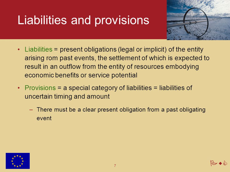 Liabilities and provisions