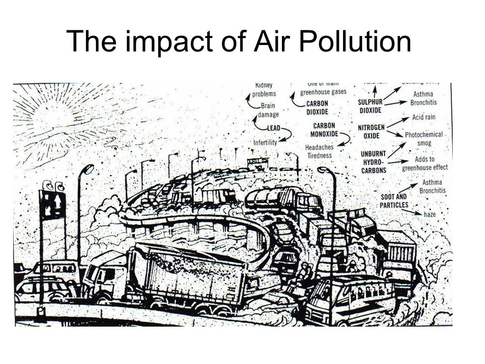 The impact of Air Pollution