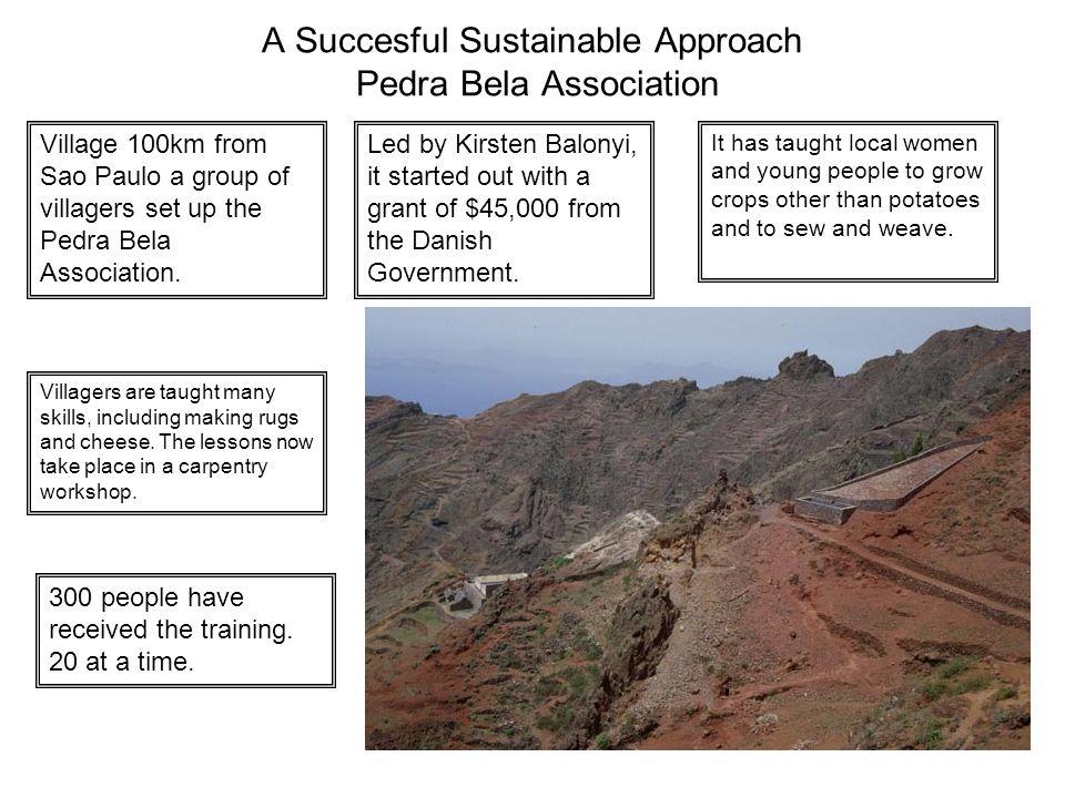 A Succesful Sustainable Approach Pedra Bela Association