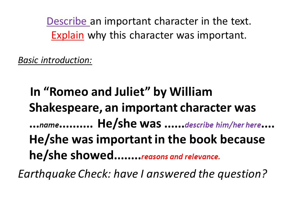 by william shakespeare ppt video online  6 describe