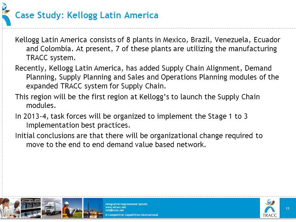 Case Study: Kellogg Latin America