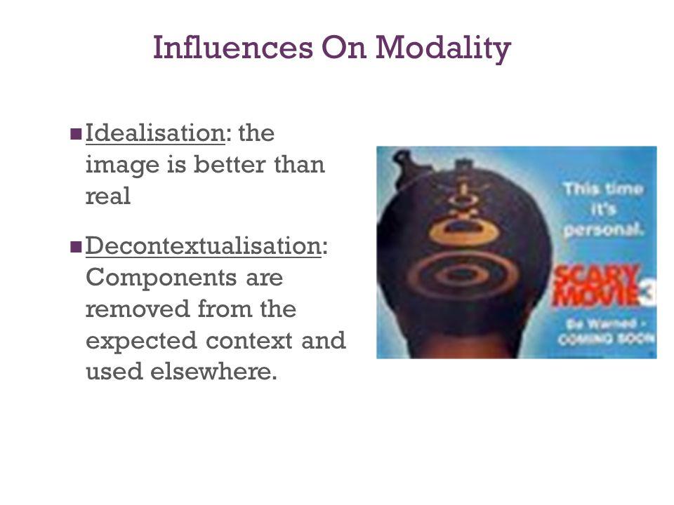 Influences On Modality