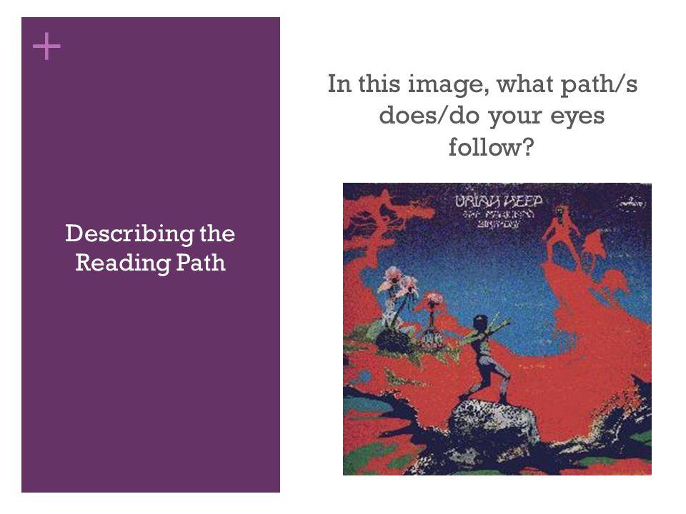Describing the Reading Path