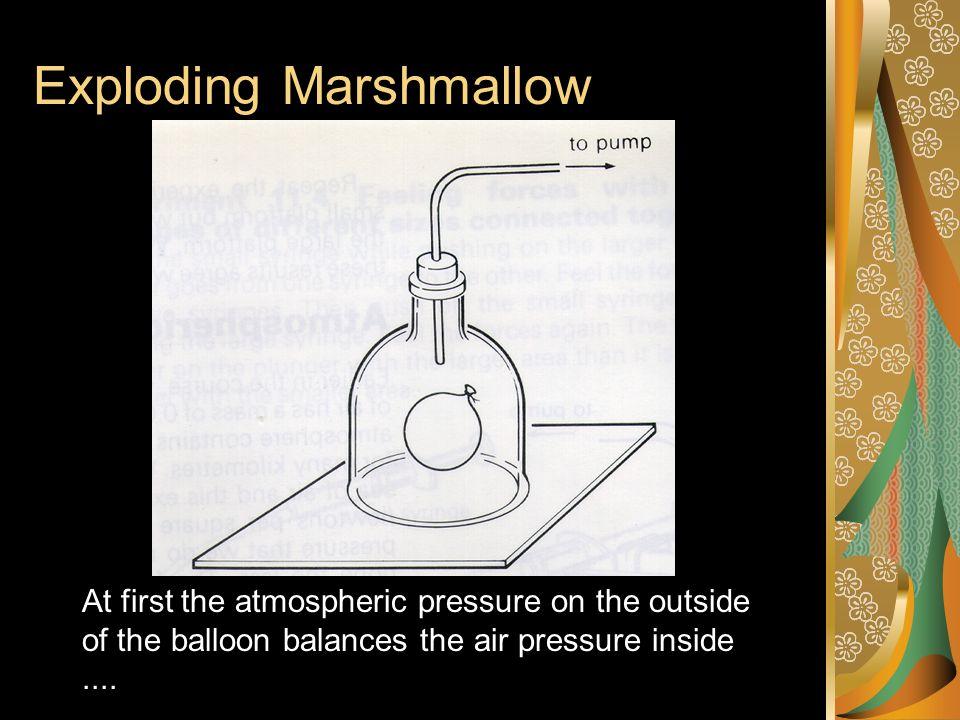 Exploding Marshmallow
