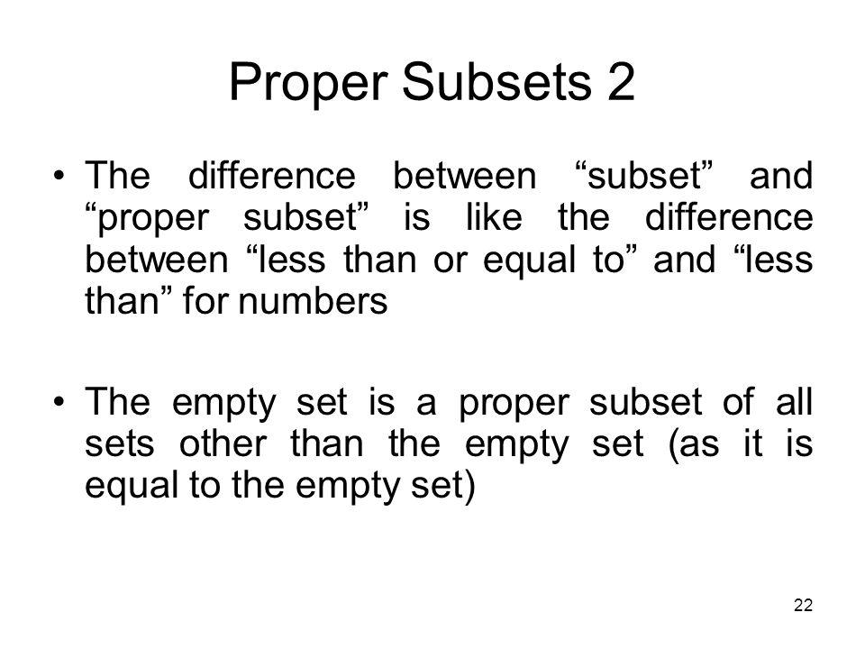 47 Venn Diagram Of A Proper Subset Of B Of Subset Proper Diagram