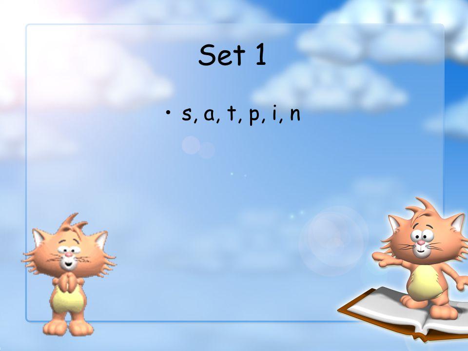 Set 1 s, a, t, p, i, n
