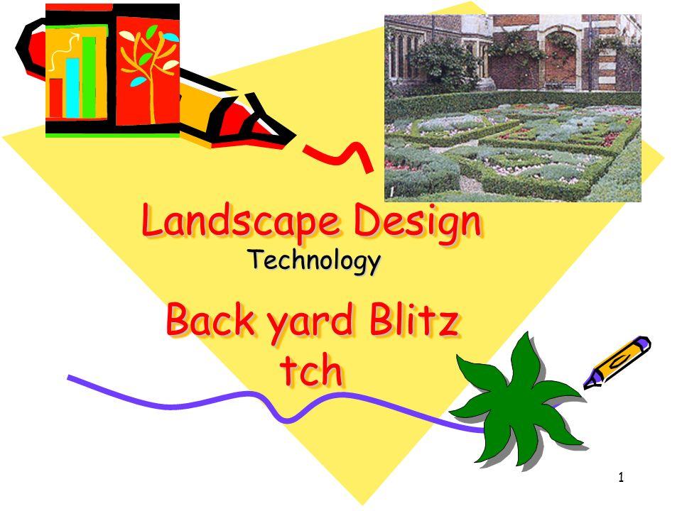 Landscape Design Back yard Blitz tch