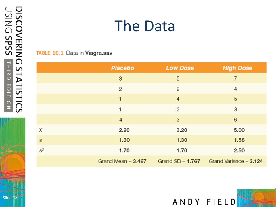 The Data Slide 13