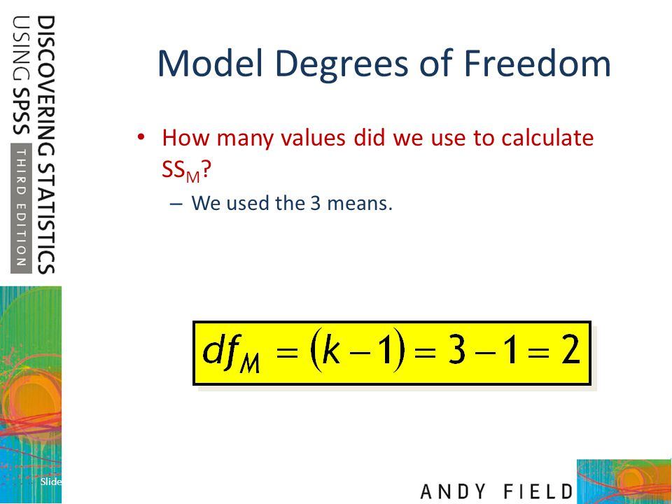 Model Degrees of Freedom