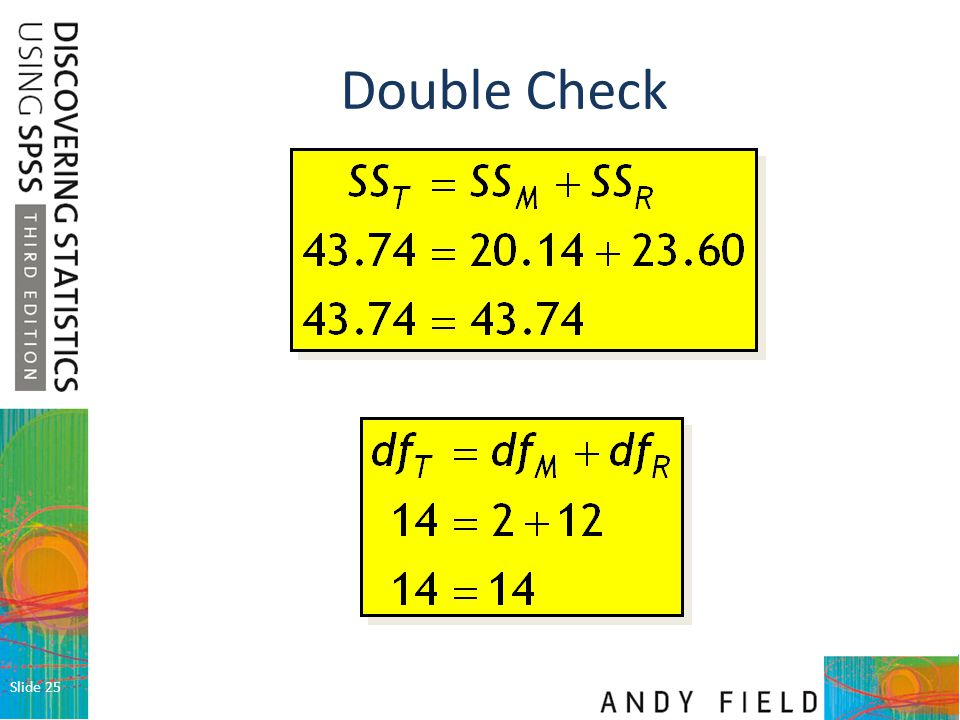 Double Check Slide 25