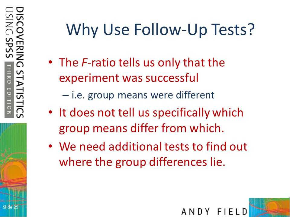 Why Use Follow-Up Tests