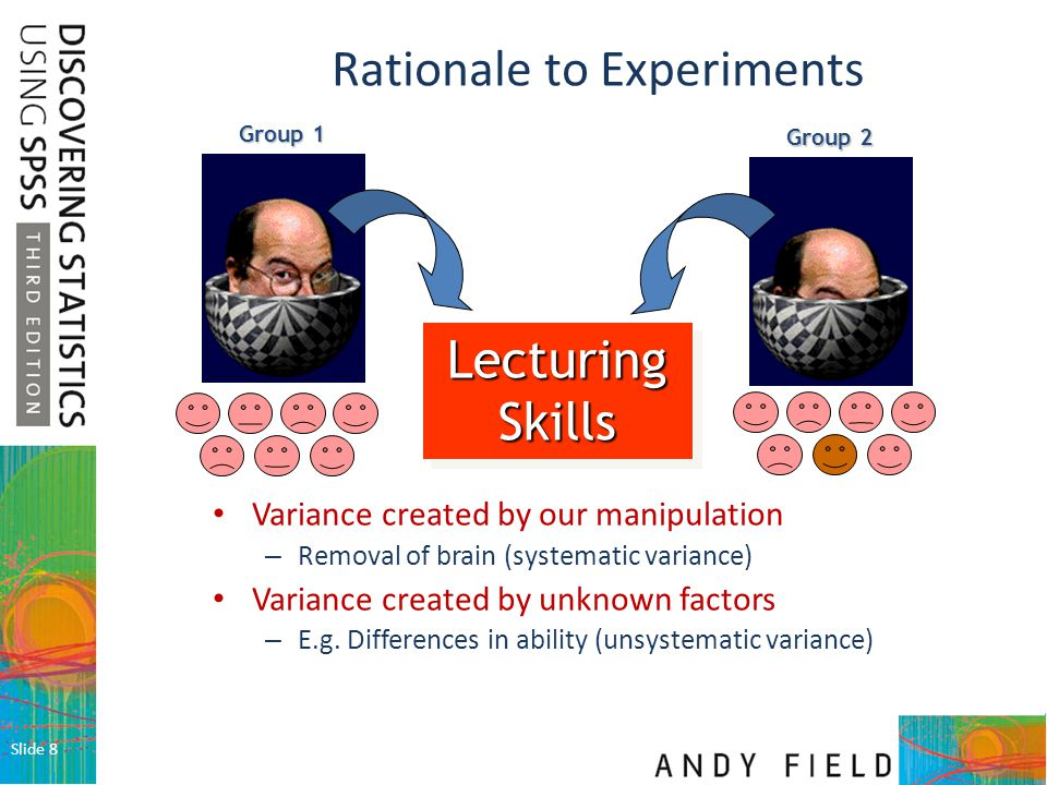 Rationale to Experiments