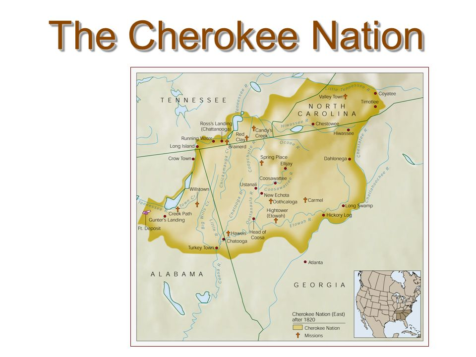 The Cherokee Nation After 1820