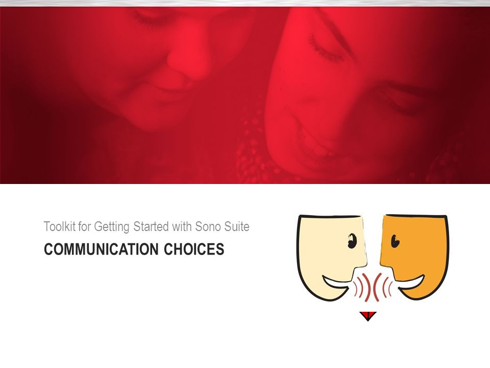 Communication choices