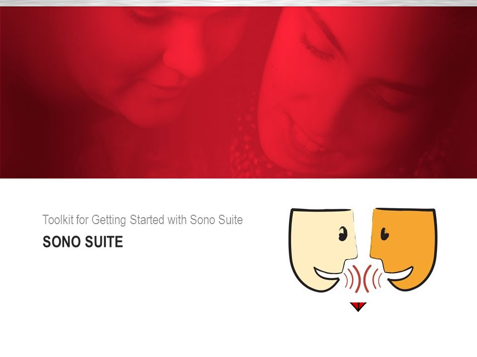 Toolkit for Getting Started with Sono Suite