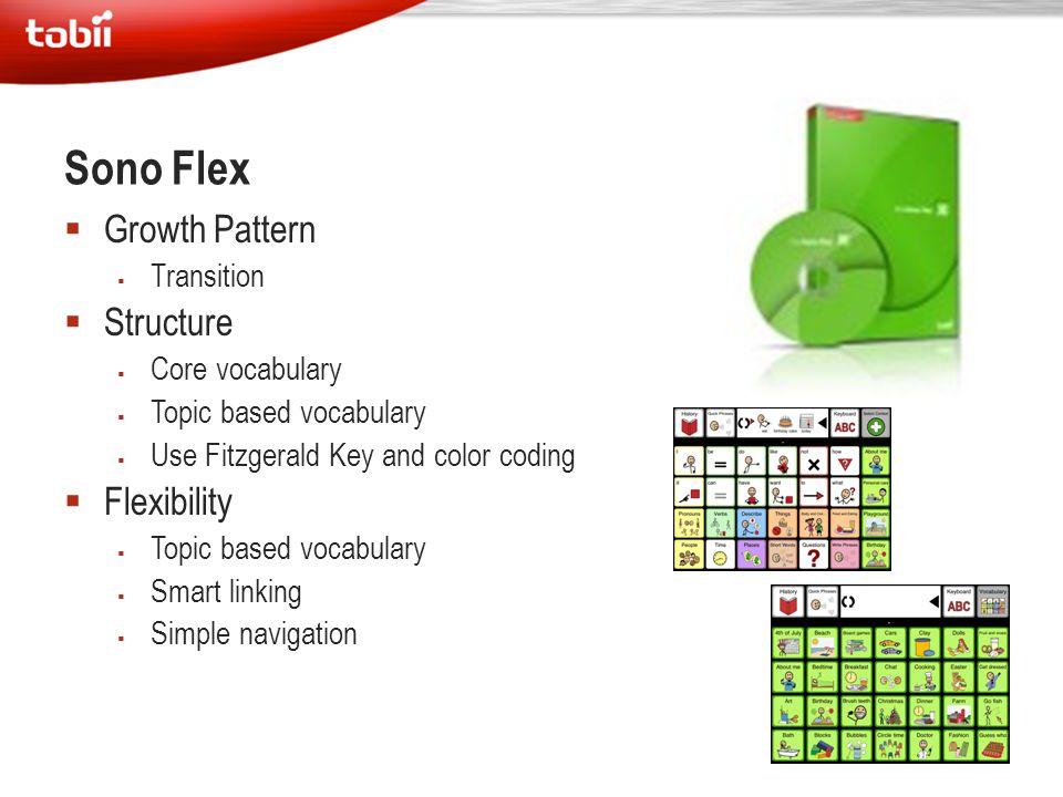 Sono Flex Growth Pattern Structure Flexibility Transition