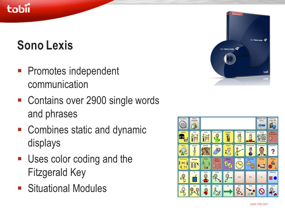 Sono Lexis Promotes independent communication
