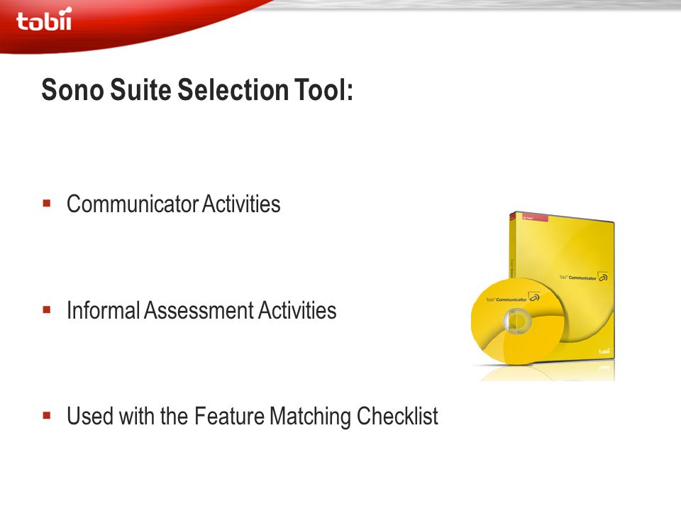Sono Suite Selection Tool: