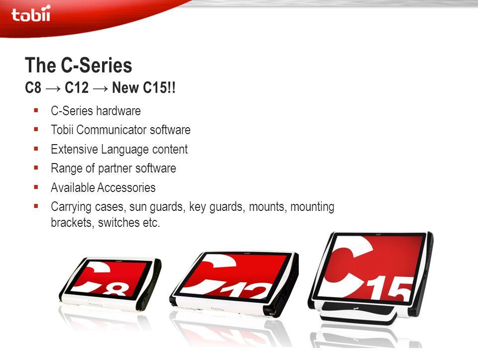 The C-Series C8 → C12 → New C15!! C-Series hardware