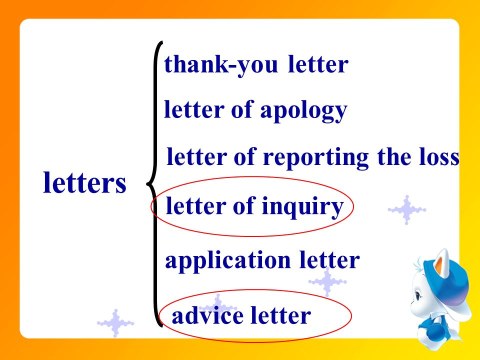 purpose of writing a letter of inquiry