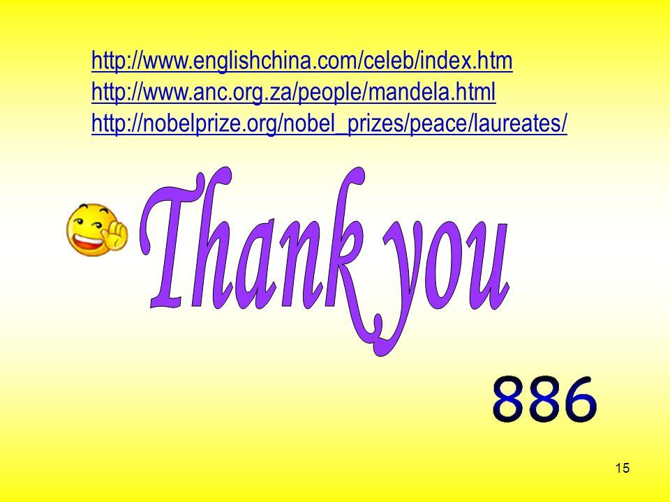 Thank you http://www.englishchina.com/celeb/index.htm