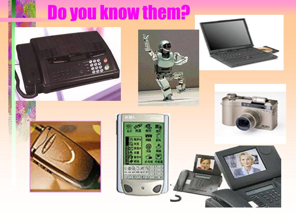 Do you know them