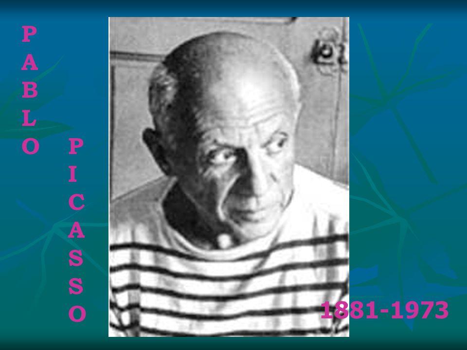 P A B L O P I C S O 1881-1973
