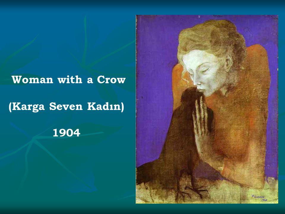 Woman with a Crow (Karga Seven Kadın) 1904