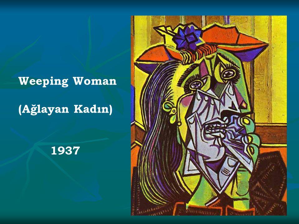 Weeping Woman (Ağlayan Kadın) 1937