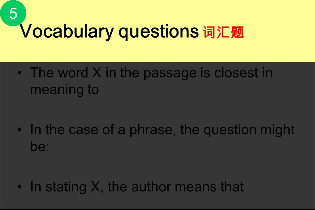 5 The word X in the passage is closest in meaning to