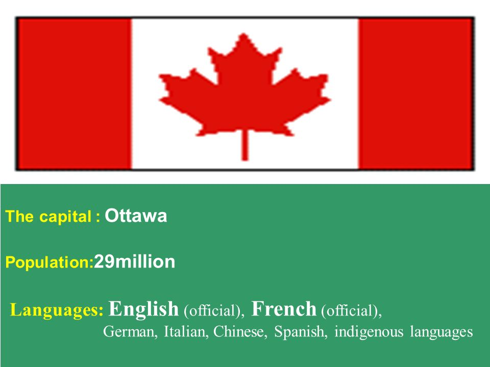 Languages: English (official), French (official),