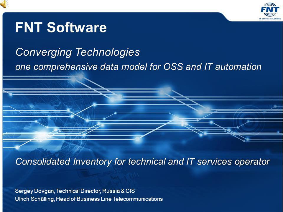 FNT Software Converging Technologies