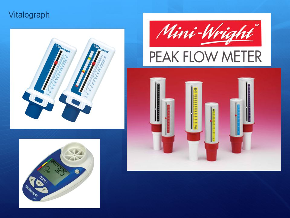 Vitalograph 2 most common peak flow meters are: