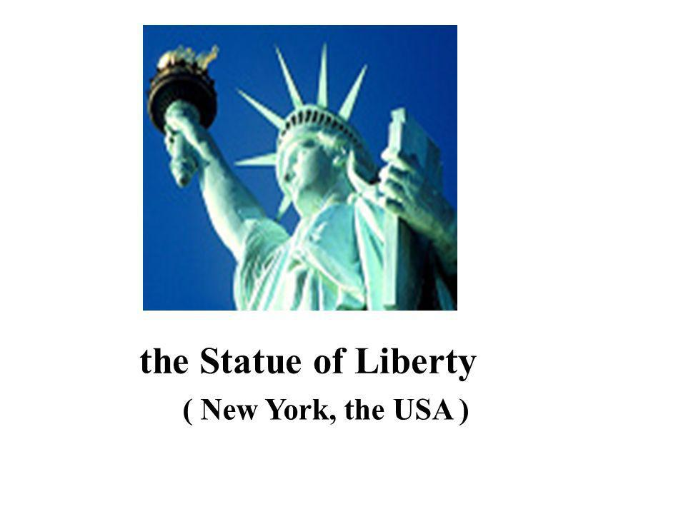 the Statue of Liberty ( New York, the USA )